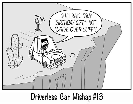 Driverless Car Mishap #13